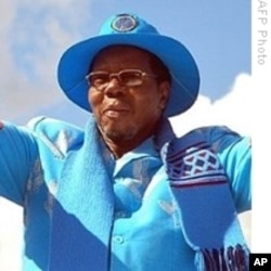 Malawi President Bingu wa Mutharika who is also current African Union chairman