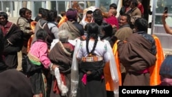 A Tibetan released after 8 years in prison