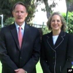 Ο Πρέσβης των ΗΠΑ στην Αθήνα, Ντάνιελ Σμίθ και η σύζυγος του Νταϊάν