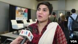 «ماریه تورپیکی وزیر» اسکواشباز ۲۸ ساله پاکستانی