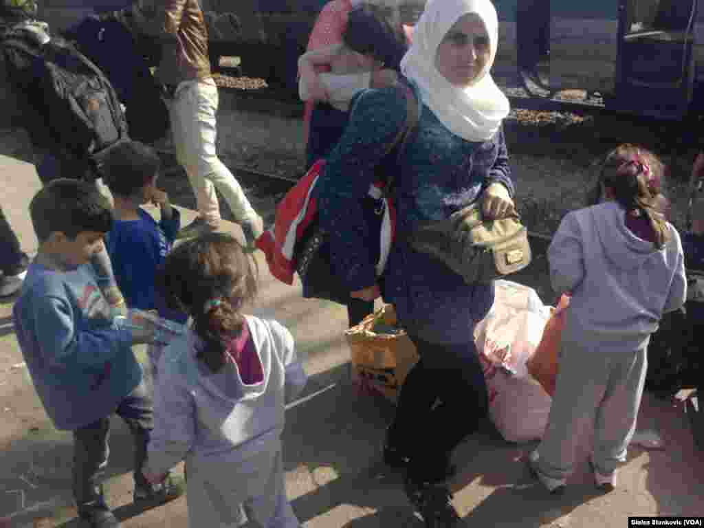 Migrants - Macedonia Tabanovce, Macedonian Serbian border September 17, 2015