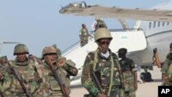 Ciidamo Djibouti oo Muqdisho Tagay