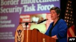 Bộ trưởng Napolitano nhấn mạnh đến những thành quả bảo vệ an ninh vùng biên giới của chính quyền