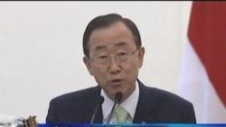 潘基文说叙利亚局势不可接受