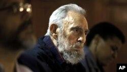 古巴前領導人卡斯特羅(古巴 Cubadebate 網站2月10刊登的照片)