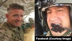رحمانی (راست) برنت تیلور را نظامی شجاع و مرد مهربان می خواند