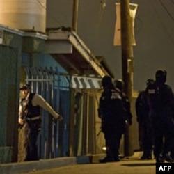 Policija ispred Centra za rehabilitaciju u Tihuani