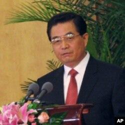 中国国家主席胡锦涛 (资料照片)