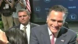 Obama Romney ante Latinos en NALEO