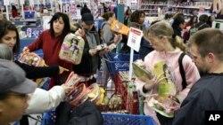 聖誕季的美國消費者