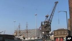 Britain's historic Chatham Dockyard