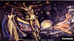 Cartel de Orfeo Negro, de 1959.