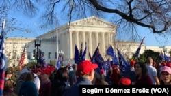 Митинг сторонников Трампа в Вашингтоне