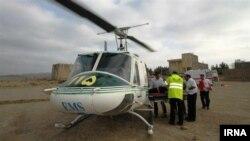یک بالگرد اورژانس ایران - عکس آرشیوی