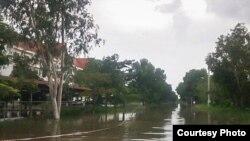 Deluge scene at the ECCC