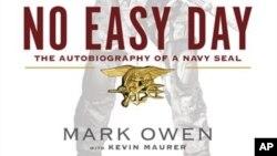 """Bìa quyển sách """"No Easy Day"""" sắp xuất bản"""