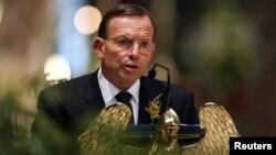 Thủ tướng Australia Tony Abbott
