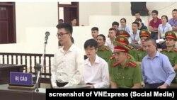 Tòa phúc thẩm ở Hà Nội y án đối với 3 nhà hoạt động nhân quyền, 10/7/2018