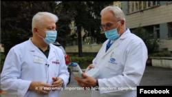 Українські лікарі отримали переносні аналізатори газів крові
