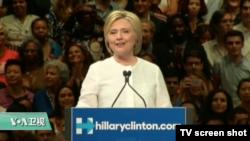 VOA连线:希拉里·克林顿新书《何以致败》今日正式出版