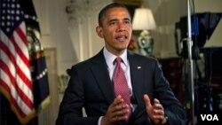 Barack Obama dio gracias a quienes sacrificaron su vida para que EE.UU. fuera la nación más próspera y poderosa del planeta.