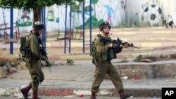 Izraelski vojnici tokom ranijih sukoba sa palestinskim demonstrantima