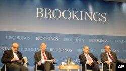 在布魯金斯學會上專家討論美國重返亞洲戰略。