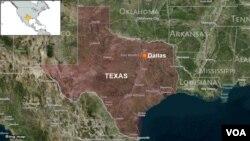 Thành phố Dallas, tiểu bang Texas, nơi xảy ra vụ cảnh sát viên da trắng nổ súng bắn chết một sinh viên da đen không có vũ khí.
