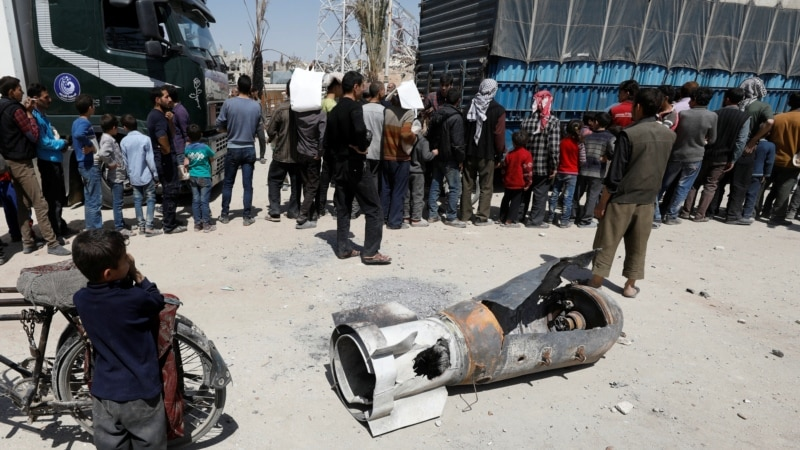 Chemical Weapons Experts Enter Douma for Inspections