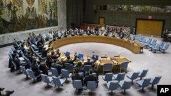 Dewan Keamanan PBB tahun ini bertemu 10 kali untuk membahas ketegangan di semenanjung Korea, termasuk isu nuklir Korea Utara (foto: dok).