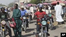 Marché de Maiduguri au Nigeria