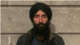 Waris Ahluwalia is seen in a photo he posted on Instagram.