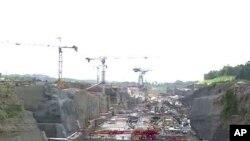 Travaux de rénovation du Canal de Panama