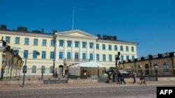 Predsjednička palata u Helsinkiju prije susreta Trumpa i Putina, 14. juli 2018.