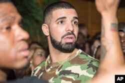 "Drake at his album launch party for ""Views"" at La Vie on April 29, 2016, in Toronto, ON."