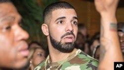Le chanteur Drake, Toronto, 29 avril 2016