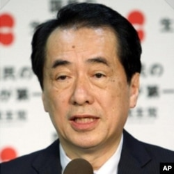 Le premier ministre japonais Naoto Kan