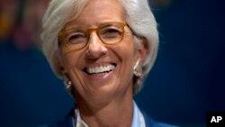 Christine Lagarde shugabar Asusun Bada Lamuni na Duniya ko IMF