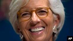 r Christine Lagarde shugabar hukumar bada lamuni ta duniya wato IMF