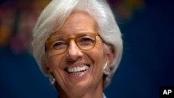 FILE - International Monetary Find (IMF) Managing Director Christine Lagarde.