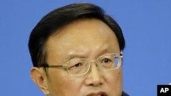 양제츠 중국 외교부장 (자료사진)