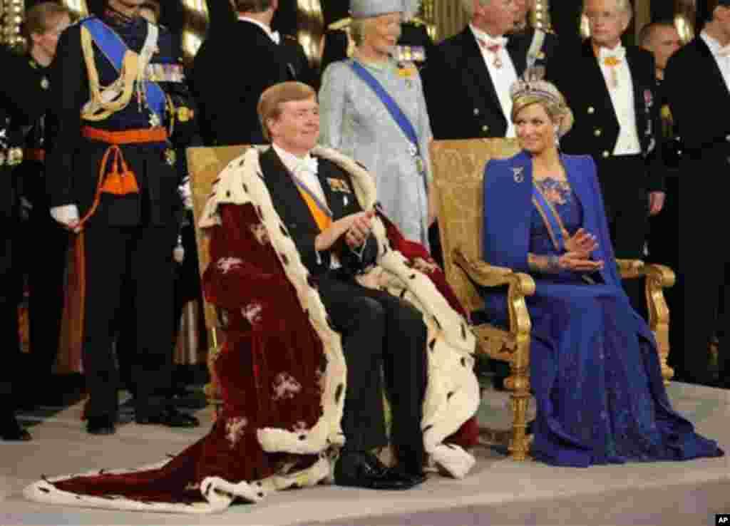 پادشاه تازه هلند، ویلم الکساندر، ۳۰ آوریل ۲۰۱۳