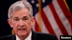 Jerome Powell es el presidente de la Reserva Federal de EE.UU.
