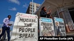 Мешканці вимагають відставки президента Муґабе