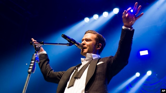 Justin Timberlake performs at the MasterCard Priceless Premieres concert on May 5, 2013 in New York.