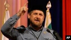 람잔 카디로프 체첸 자치공화국 대통령 (자료사진)