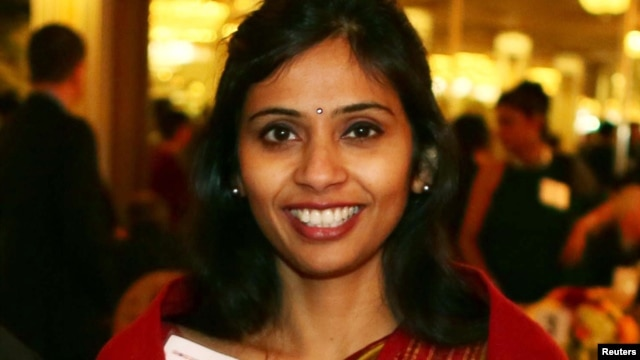 Devyani Khobragade, India's deputy consul general, , December 8, 2013. (Reuters/File)