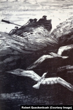 Woodcut by Robert Quackenbush