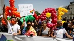 Parada ponosa u Prištini (Foto: Rojters/Florion Goga)