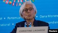 Direktur pelaksana, IMF Christine Lagarde (foto: dok).
